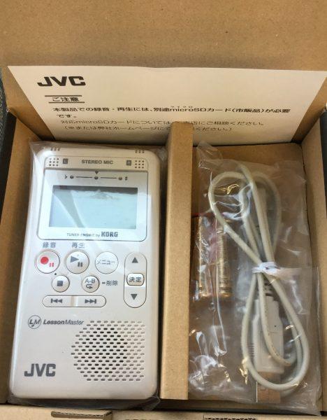 在庫処分品のご案内 JVC XA-LM10 レッスンマスターイメージ02