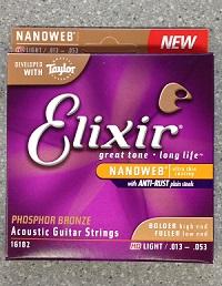 アコースティックギター弦 Elixer フォスファーブロンズ HD Light 16182イメージ01