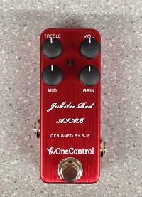 ディスト―ション One Control Jubilee Red AIABイメージ01