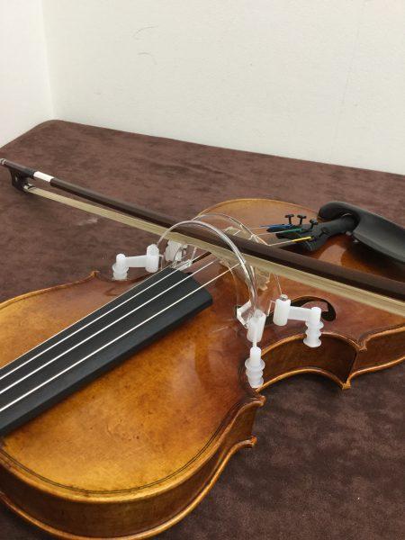バイオリン弓ボーイング練習ガイド矯正器具 HorACE ボウガイド4/4~1/2イメージ01