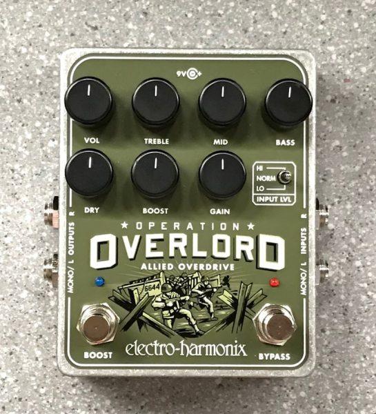 オーバードライブ electro-harmonix Operation Overloadイメージ01