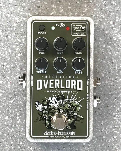 オーバードライブ electro-harmonix Nano Operation Overloadイメージ01